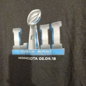 Other - Large gray super bowl shirt